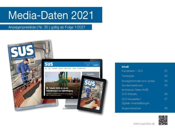 SUS Mediadaten 2021