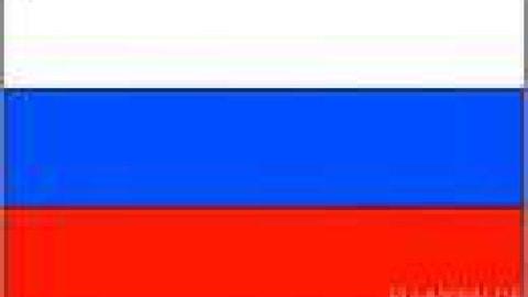 Flagge Russland