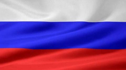 Russlands Flagge