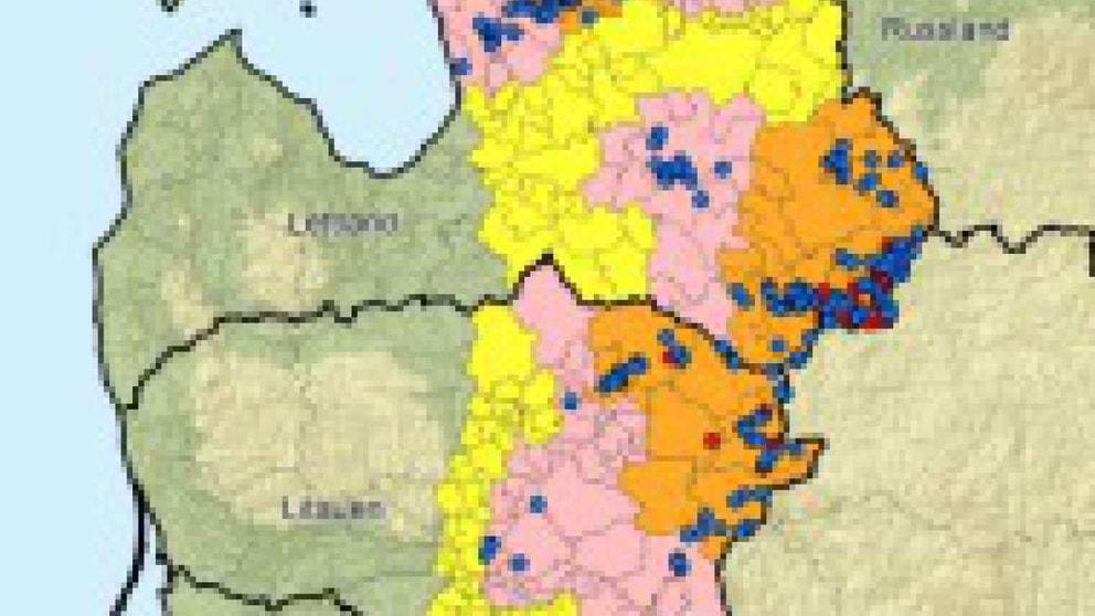 afrikanische schweinepest karte Karte zur Afrikanischen Schweinepest   gesundheit   news   SUS Online