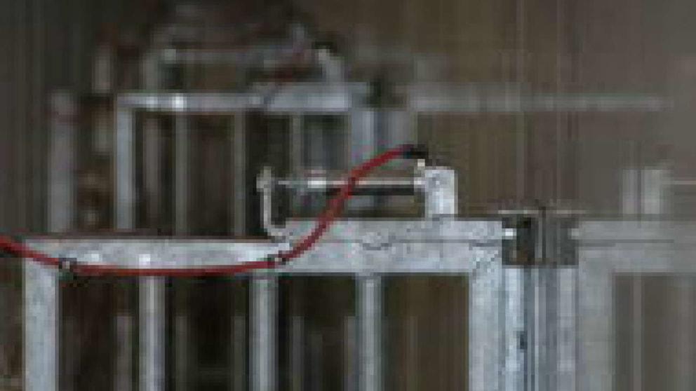 Der Eberlaufgang ist mit Absperrtüren ausgestattet, die sich automatisch öffnen lassen.